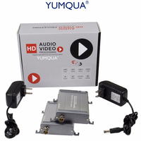 YUMQUA HDMI Extender 1080P 200m LossLESS No Delay HDMI Cable Extender RG59/RG 6U BNC Coax Cable For DVR, DVD, Home Theater