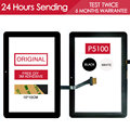 ORIGINAL Tested Sensor 10.1 INCH Touchscreen For SAMSUNG GALAXY Tab 10.1 P7500 Touch Screen Glass Panel Parts Free Adhesive