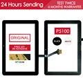 Original testado sensor de 10.1 polegada de tela sensível ao toque para samsung galaxy tab 10.1 p7500 touch screen do painel de vidro peças adesivo livre