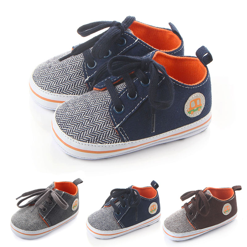 Baby Walking Shoes For Infant Boys Toddler Boy Sneaker Shoes Made Of Cotton And Hemp With Soft  Non-slip Sole Brand Babyshoes