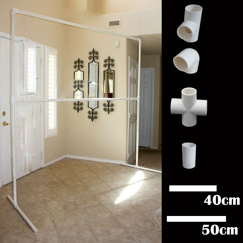 2x2 Meters Square holder for background curtain Home Garden wedding decorations Event Party Supplies ballon arch