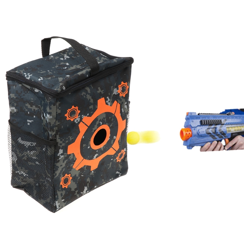 Target Pouch Storage Carry Equipment Bag For Soft Bullet Bursts Toy Gun-M35