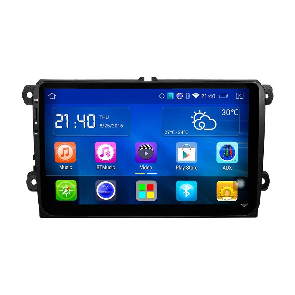 9 &#171;Android Quad Core Автомобильный DVD Для <font><b>VW</b></font> Passat <font><b>Golf</b></font> MK5 MK6 Jetta Polo Touran Sharan Автомобильный Радиоприемник стерео Navi <font><b>bluetooth</b></font> зеркало ссылка