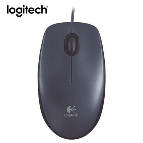 Оригинальный Logitech M90 Мышь игровой ноутбук PC проводной 1000 точек/дюйм оптическая компьютерная Мыши компьютерные ...