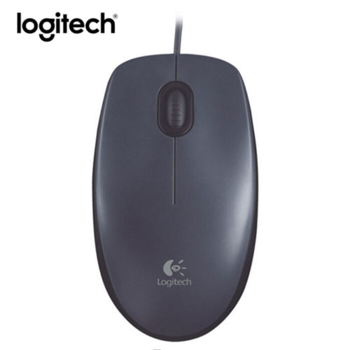 Original Logitech M90 Mouse Gaming Laptop Pc Wired 1000dpi Optical Computer Mice