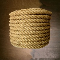 50/20 /35/30/40/45mm diameter Custom fillis natural jute rope tied rope outdoor decorative fence rope