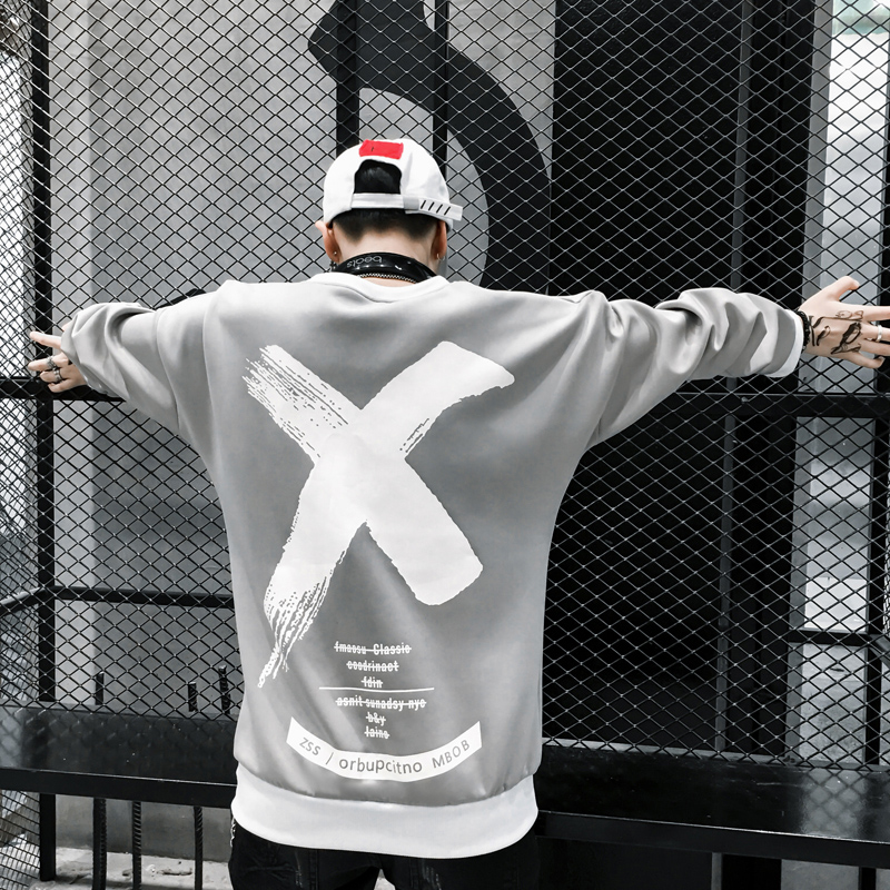 hip hop fashion print hoody modis sweatshirt kpop clothes High Street streetwear off white hoodie men harajuku clothes male