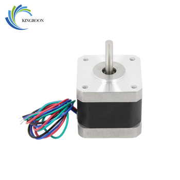 5Pcs/Lot Nema Stepper Motor 1.7A 42BYGHW609 Laser Grind Foam Plasma 3D Printers Part 42 For CNC XYZ 4-Lead Accessories Parts