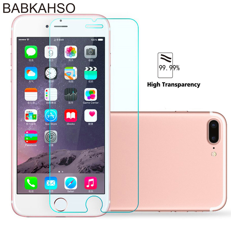 Protective Tempered Glass For Iphone 6 7 6 6s 8 Plus 11 Pro XS Max XR Glass Ip7 8 X Screen Protector Glass On For Iphone 7 6S 8