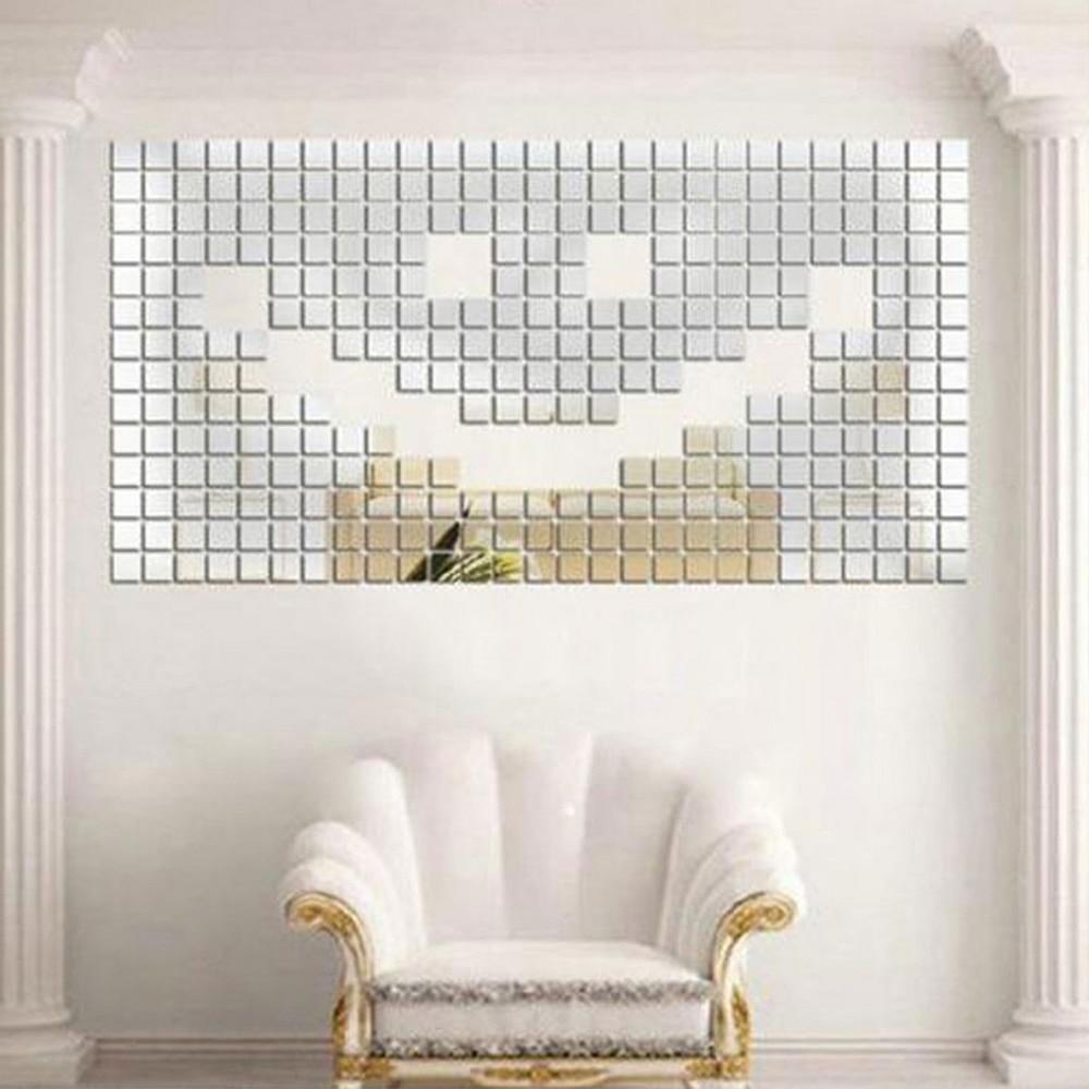 Fai Da Te Decorazioni Casa us $2.0 11% di sconto|fai da te decorazione della casa piece self adesivo  piastrelle di 3d specchio autoadesivi della parete della decalcomania