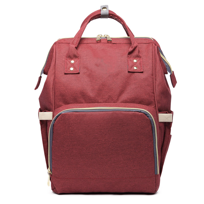Hotselling Fashion Mummy Maternity Nappy Bag Large Capacity Baby Bag Travel Backpack Desinger Nursing Bag For Baby Care