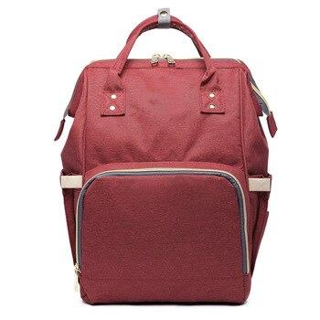 Hotselling moda mumia macierzyństwo pieluszka torba duża pojemność torba podróżna plecak dla dzieci projektant torba na karmę dla niemowląt