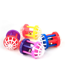 Hot Plastic Kitten Cat Toy with Dumbbell Jingle Cute Pet Dog Training Sound Funny Small Scratching YH-460567