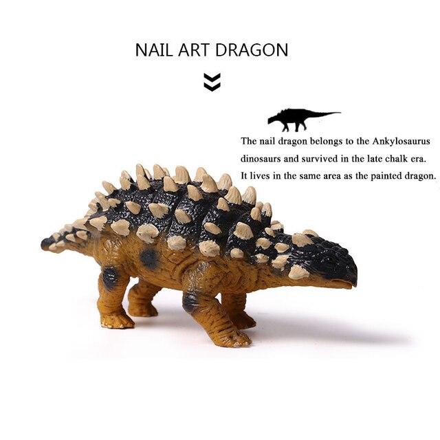 Animals Figures Jurassic World Park Dinosaur Plastic Toy Saichania ...