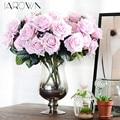 Seda Artificial 1 Bando Francês Subiu Floral Bouquet Falso Flor Organizar Mesa Margarida Flores Casa Casamento Decoração do Partido acessório