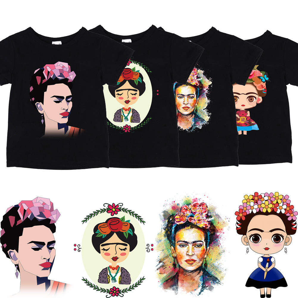 hot-patch-mexican-painter-cartoon-image-for-clothing-iron-on-patches-diy-t-shirt-dresses-thermal-transfer-sticker