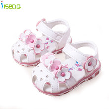 Princess Flowers Baby Girls Sandals Toddlers Kids Shoe New Style Summer Cute  Toddler Girl Shoes