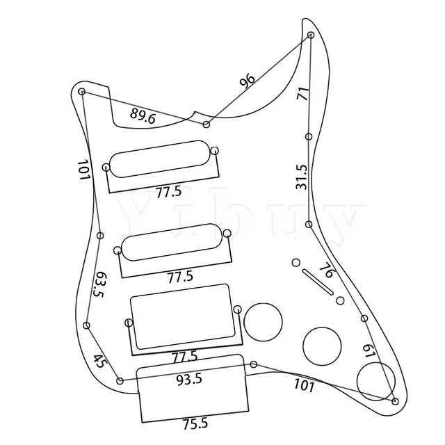 Soapbar Pickup Wiring Diagram