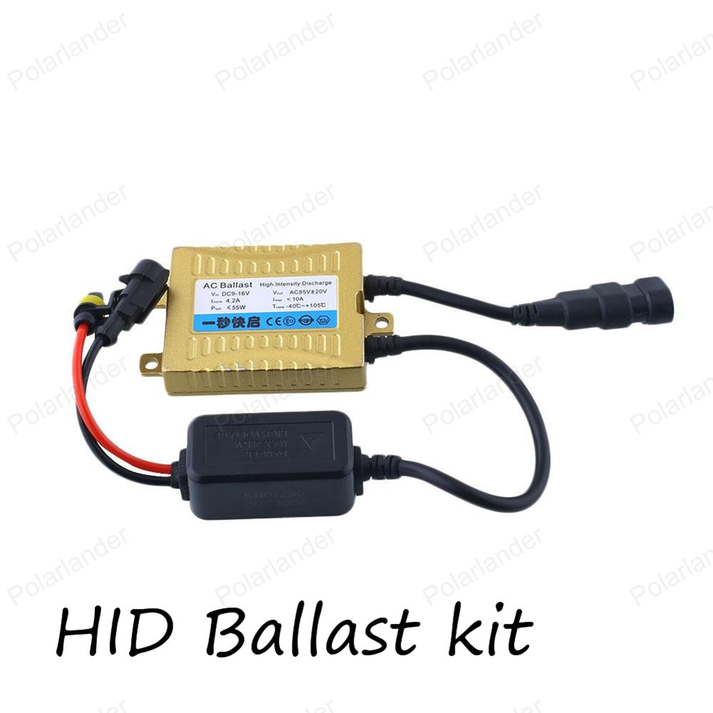 HID 55W Xenon Replacement Electronic Digital Conversion Ballast Kit for H1 H3 H4 1 H7 H11