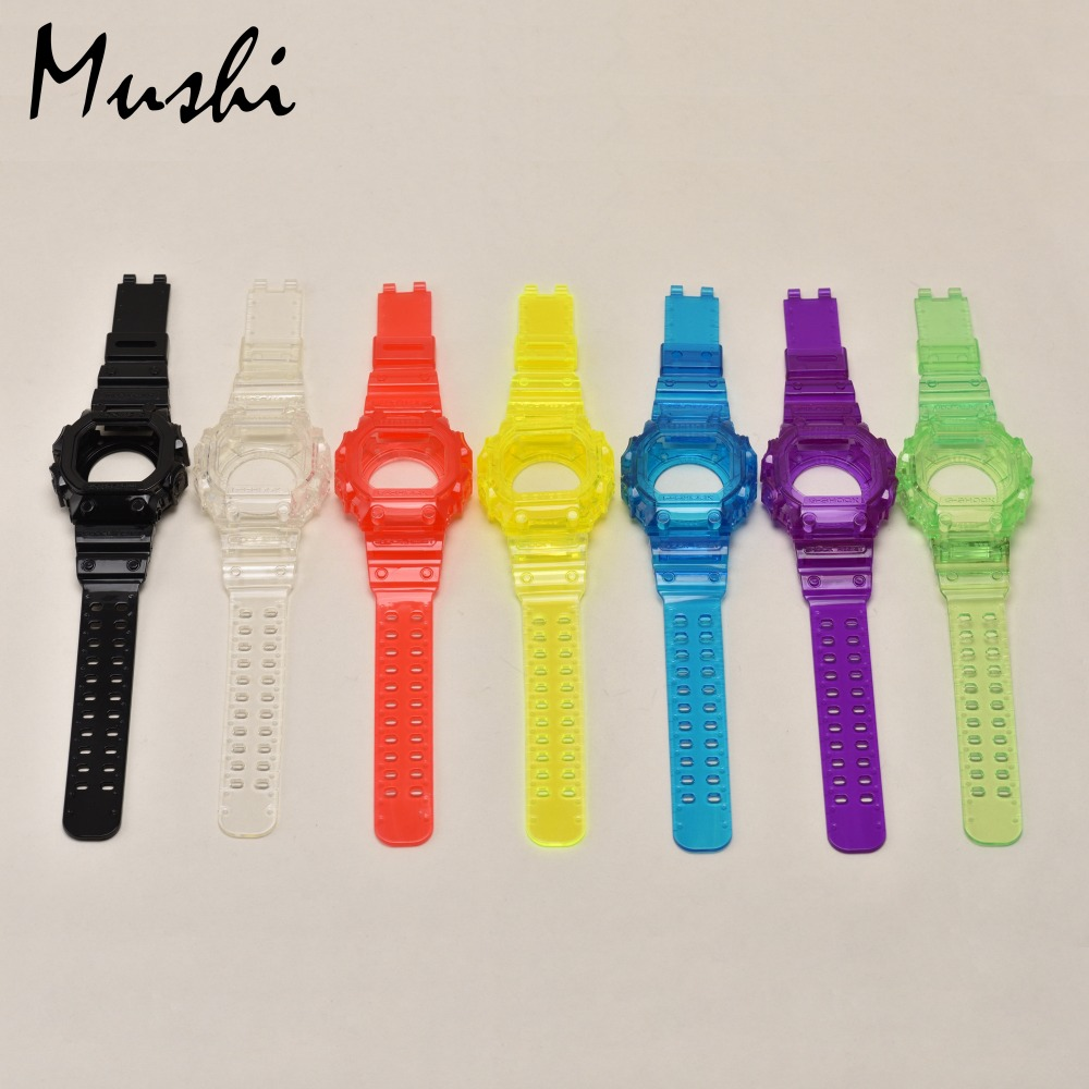 Casio G Shock Gx 56bb 1d Resin Band Watch For Men Black Intl Cek 1 Jam Tangan Pria Strap Mushi Watchbands Case Transparent Blue