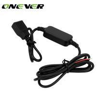 Onever 15 วัตต์แรงดันไฟฟ้าคู่ USB อะแดปเตอร์ 12 โวลต์ 5 โวลต์ Converter อินเวอร์เตอร์ 3A คู่ USB Converter ขั้นตอนลงโมดูลรถอุปกรณ์เสริม