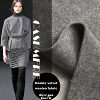 PanlongHome Autumn And Winter Thick Double Sided Wool Wool Cloth Solid Color Cashmere Woolen Fabric