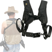 Anti-Slip Camera Shoulder Neck Strap Vintage DSLR Camera Belt for Nikon Canon Sony Cameras micnova mq msp07 carrier iii multi camera carrier photographer vest with triple side holster strap for canon nikon dslr camera