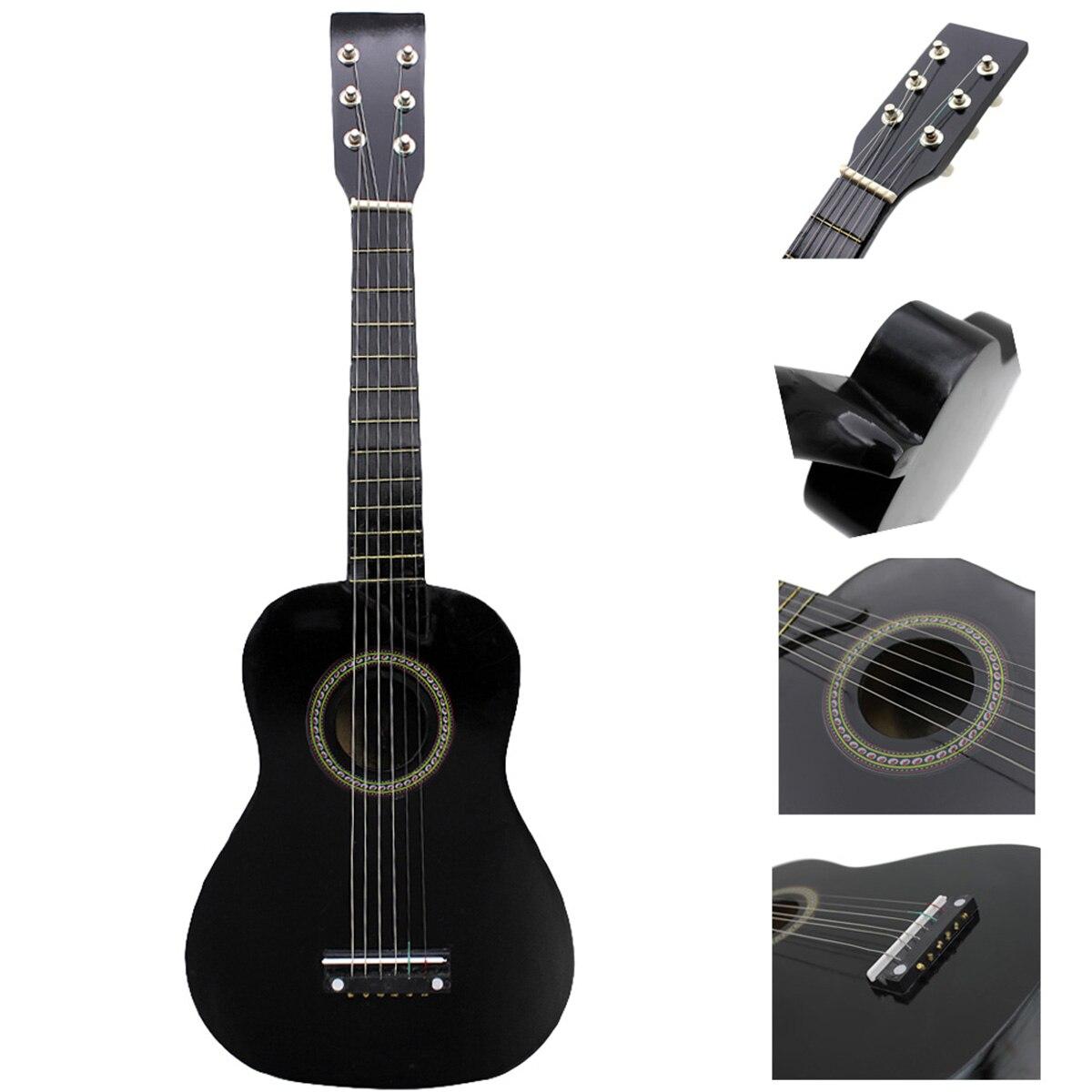 Nouveau IRIN Mini 23 pouce Tilleul 12 Frettes 6 Chaîne Guitare Acoustique avec la Sélection et Cordes pour Enfants/Débutants