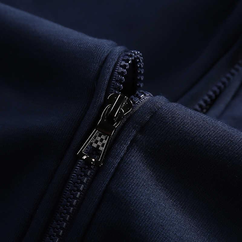 Мужская спортивная одежда, спортивный костюм, брендовая мужская одежда для фитнеса, куртка с длинным рукавом и брюки, комплект из 2 предметов, повседневный мужской спортивный костюм 4XL