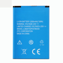 Original ZTE Blade L370 Phone battery For ZTE Blade L370 Blade L2 Plus Accumulator 2000mAh Li3820T43P3h785440 original 235w geekvape blade tc kit w blade mod