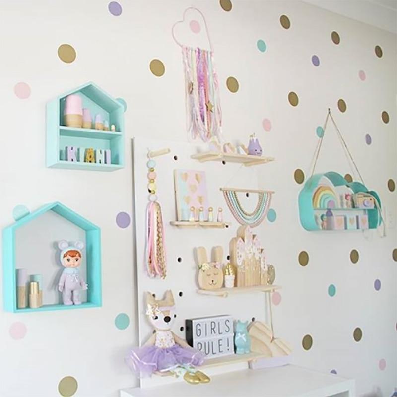 Dots Wall Stickers For Kids Room Baby Home Decoration Children Wall Decals Kids Wall Sticker Kids Home Decor Murals Wallpaper