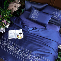 Home Textile Bedding Sets Adult Bedding Set Bed Gray Green Duvet Cover King Queen Size Quilt Cover Brief Bedclothes Comforter