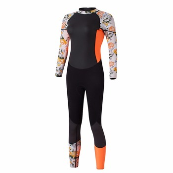 3mm Neoprene Wetsuit with Stretch Panels for Snorkeling Scuba Diving, Surfing