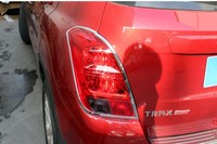 Rear Chrome Tail Light Lamp Trim Cover Molding For Chevrolet Trax 2013 2014 2015 2016