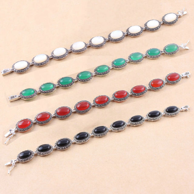Pure 925 sterling bangle Silver women jewelry Wholesale free shipping Genuine female bracelet brand Bracelets WBS015