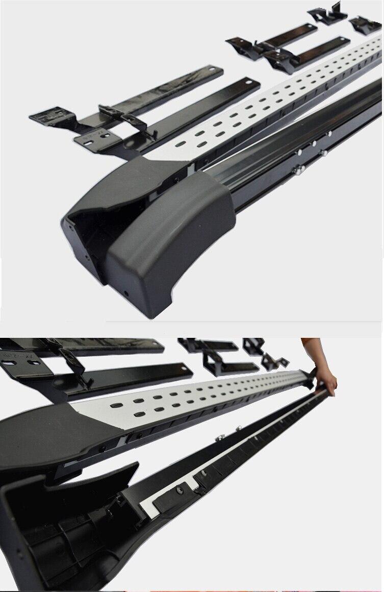 estribo lateral da barra nerf para o Subaru XV XV XV Crosstrek - Peças auto - Foto 2