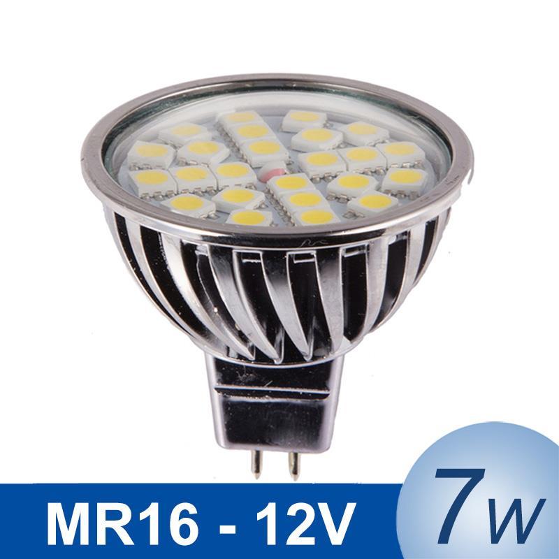 MR16 7W 12V Bombillas LED SpotLight LED L& Spotlight L&ada LED Bulb SMD5050 High Bright Spot Light Dimmable Warm/Cold White-in LED Bulbs u0026 Tubes from ...  sc 1 st  AliExpress.com & MR16 7W 12V Bombillas LED SpotLight LED Lamp Spotlight Lampada LED ...