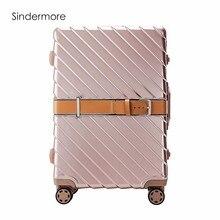 "Sindermore 4 colores 20 ""24"" 29 ""Marco de aluminio VS PC Viaje Lugagge Carry One Hardside Maleta para equipaje con ruedas"