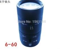 CCTV Lens / Manual Vari-Focal 6-60 mm / Camera Lens / Lenses/ Manual Lens 6-60mm doumoo 330 330 mm long focal length 2000 mm fresnel lens for solar energy collection plastic optical fresnel lens pmma material