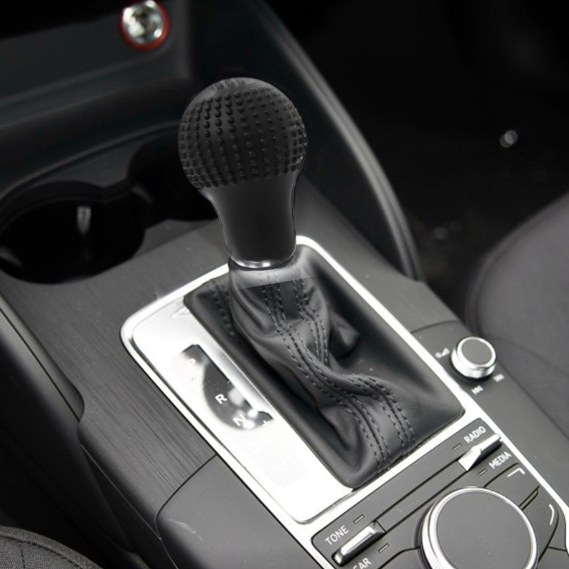 Image 2 - 1Pc Car Universal Truck Round Bump Silicone Nonslip Lever Gear Shift Knob Cover Protector Black Auto Parts qiang-in Gear Shift Collars from Automobiles & Motorcycles
