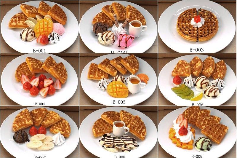New design simulation food model fake dessert cold platter