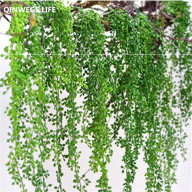 3pcs 90cm Tears Of Artificial Plants Leaf Wall Hang Flower Garland Vine Fake Wedding