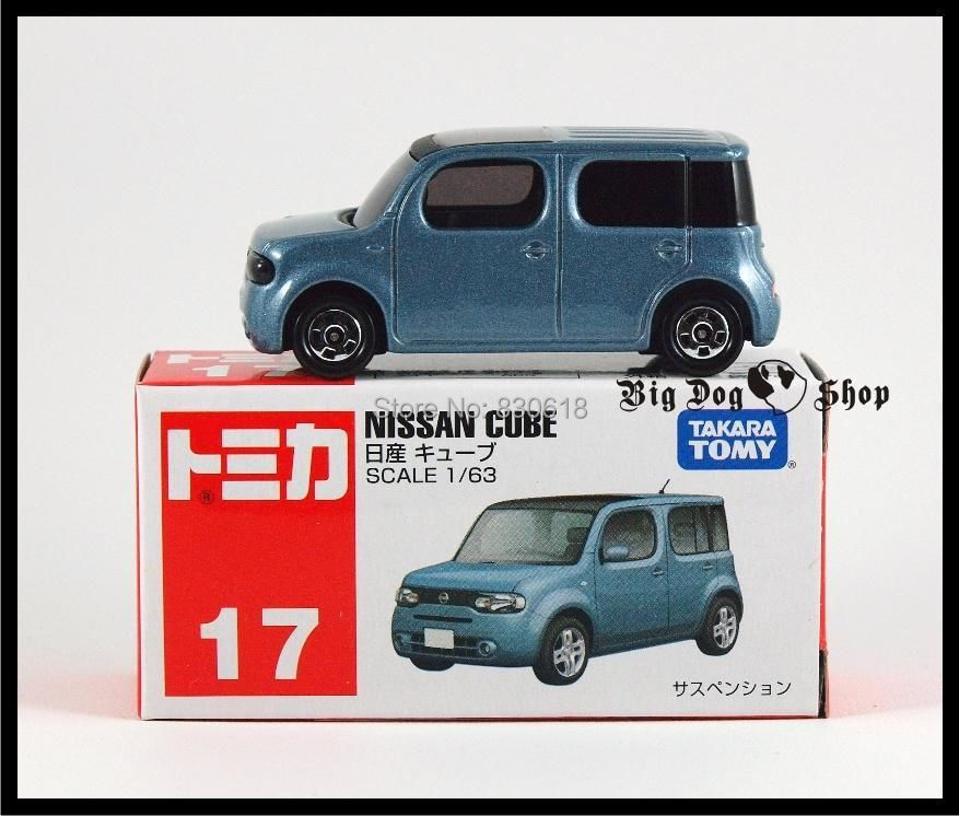 TOMICA #17 NISSAN CUBE 1/63 TOMY GIFT 17