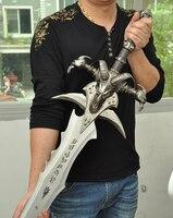 Мир игры Frostmourne Sword Реплика коллекция длина 120 см из нержавеющей стали сделано с задней подвеской доска косплей реквизит 2019