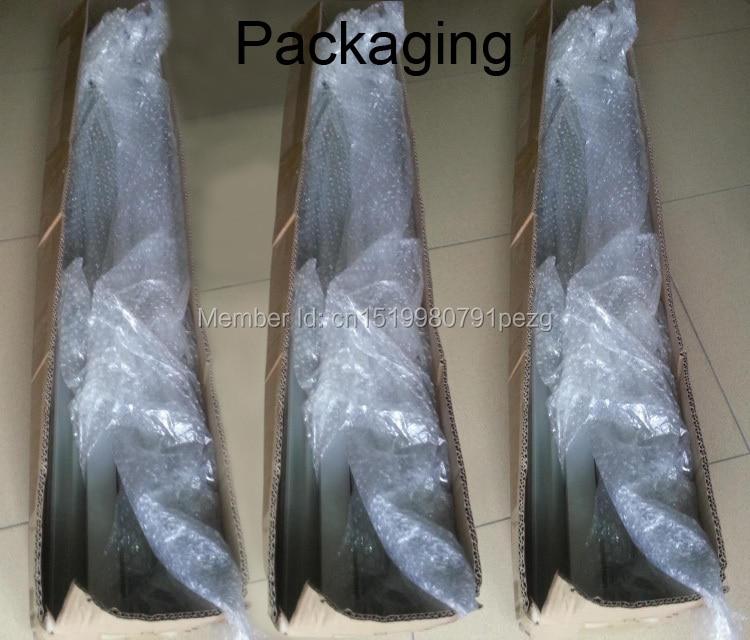 10X1M Sets / Lote Perfil de aluminio anodizado plateado para tiras de - Iluminación LED - foto 6