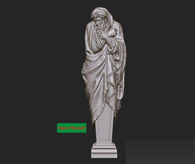 3D model stl format, 3D solid model rotation sculpture for cnc machine Winter martyrs faith hope and love and their mother sophia 3d model relief figure stl format religion for cnc in stl file format