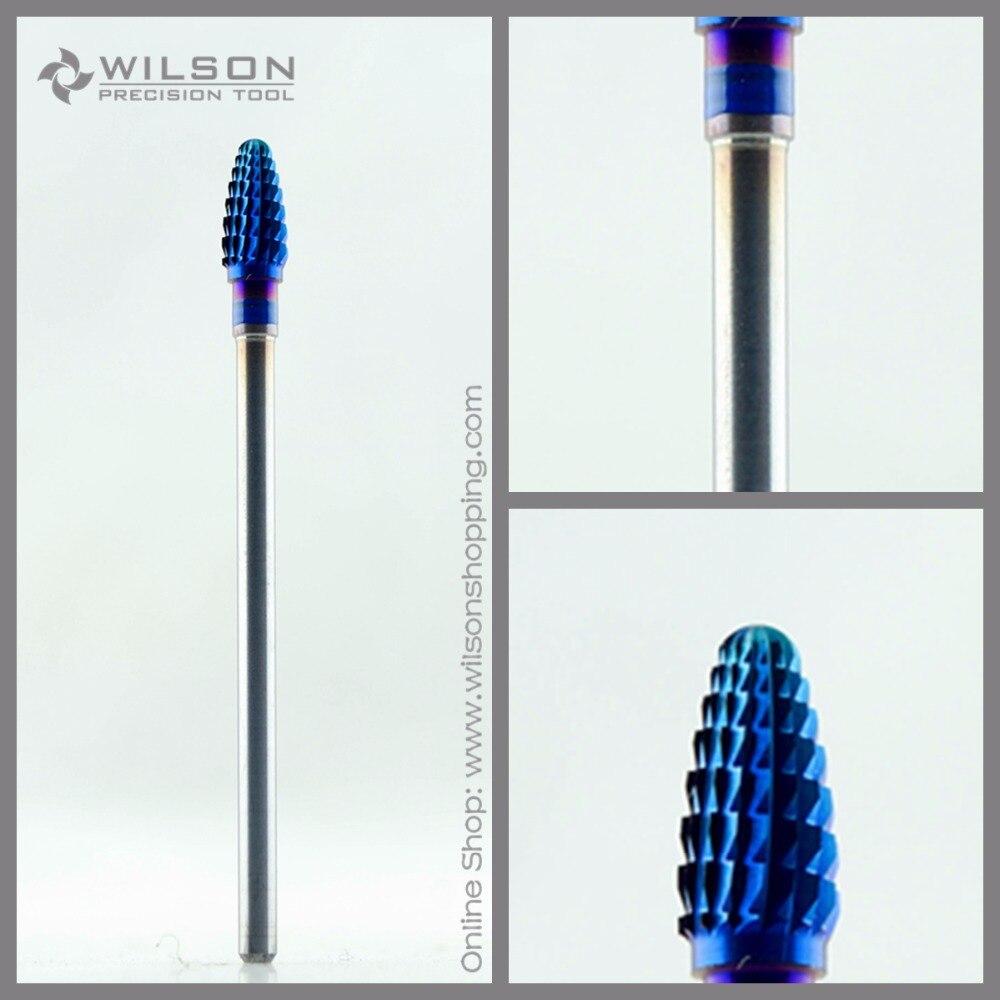 mini cone medio m 1130127 azul revestimento nano wilson carbide bit prego para manicure eletrica broca