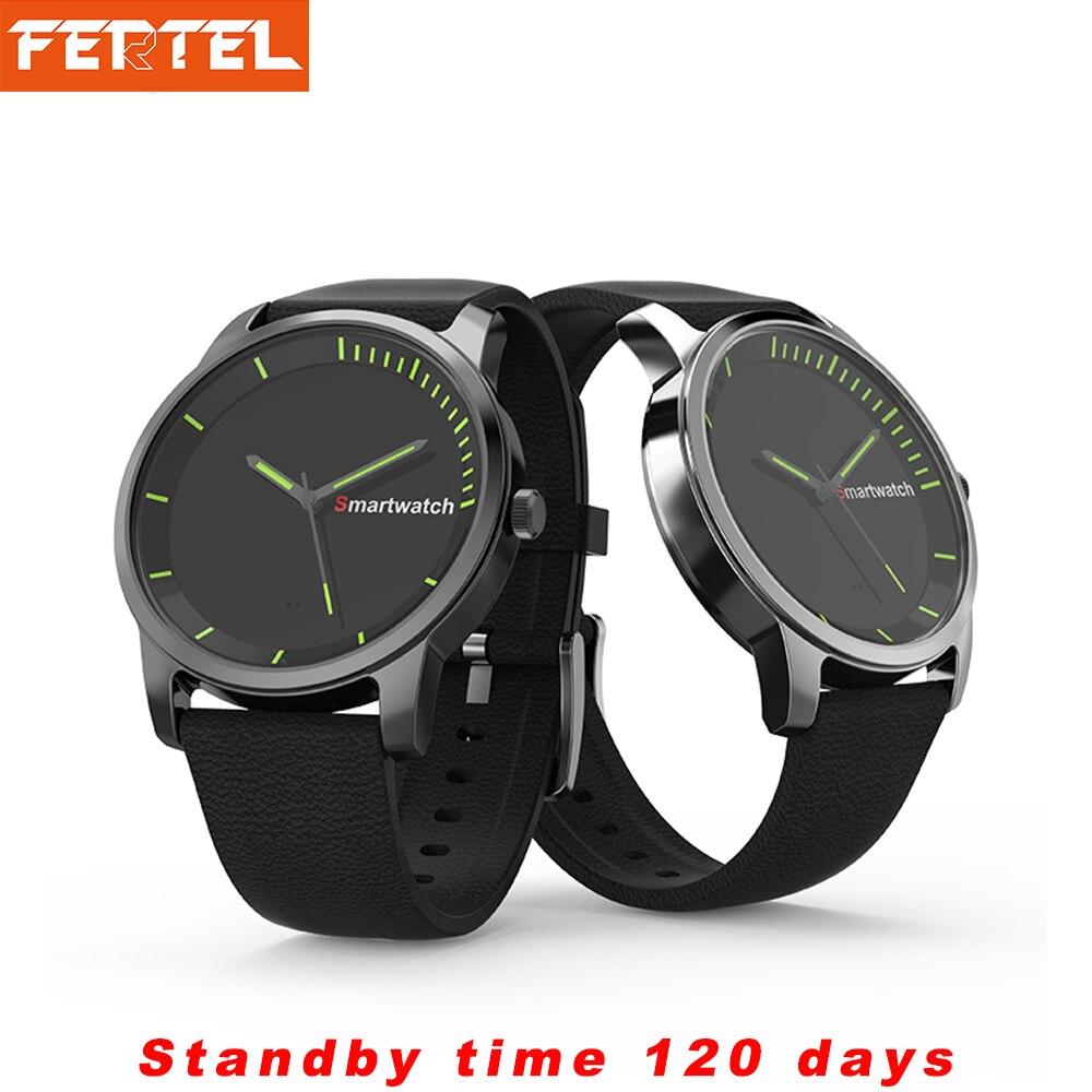 Bluetooth Smart Watch Men IP68 Waterproof Quartz Wristwatch 120 Days Ultra-Long Standby Health Monitoring Smartwatch Woman