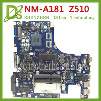 Placa madre KEFU VILZA NM A181 para Lenovo Z510  placa base para ordenador portátil  placa base PGA947 nm a181 Placa base original y testada DDR3|Placas base| |  -
