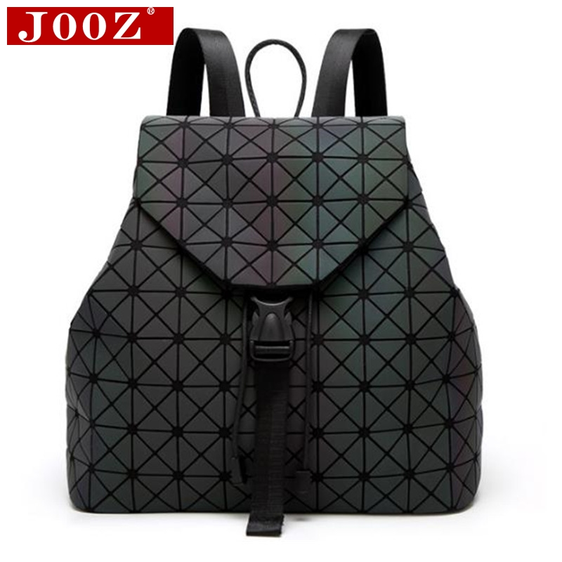 Jooz Luxury Luminous Women Backpacks Big Capacity Students Daypacks School Bags For Girl Fashion Bling Hologram Female Bagpack #2